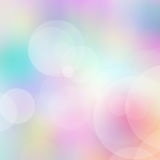 Bokeh blurred lights background. Purple, green, blue and pink pastel colorful background. bokeh blurred lights background Stock Photos