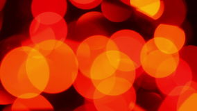Bokeh, blurred lights stock footage
