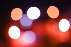 Bokeh blurred out of focus background. Bokeh blurred Royalty Free Stock Photo