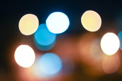 Bokeh blurred out of focus background. Bokeh blurred Royalty Free Stock Photography