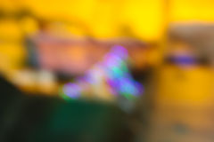 Bokeh blurred out of focus background. Colourful, defocused, lights on dark background Royalty Free Stock Images
