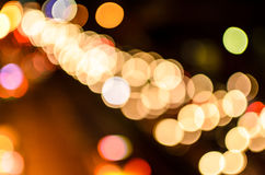 Bokeh. The Bokeh in oblique with blur Royalty Free Stock Photos