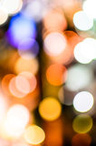 Bokeh. The Bokeh on three columns Stock Photos
