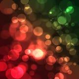 Bokeh borrado fundo do Natal. Imagens de Stock Royalty Free