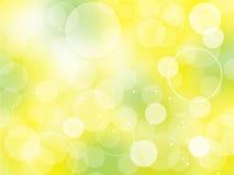 Bokeh bright spring background. Vector natural bright background with bokeh effect vector illustration
