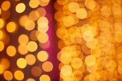 Bokeh brillante de la Navidad Foto de archivo