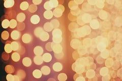Bokeh brillante de la Navidad Foto de archivo libre de regalías