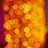 Bokeh brillante de la Navidad Imagen de archivo libre de regalías