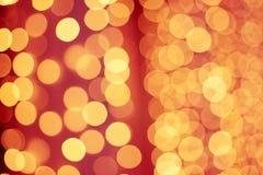 Bokeh brillante de la Navidad Fotografía de archivo libre de regalías