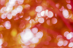Bokeh of brown background Stock Photography