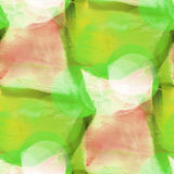 Bokeh brown, green colorful pattern water texture paint abstract Royalty Free Stock Photo