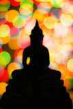Bokeh of Buddha no1 Royalty Free Stock Photography
