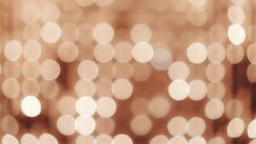 Bokeh candle lights. Wall background stock video