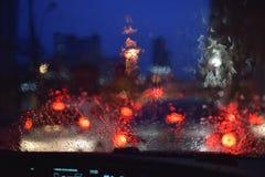 Bokeh of car light Stock Photo