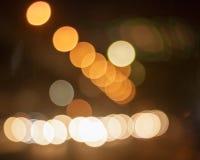 Bokeh car lights. Stock Photography