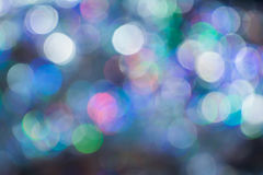 Bokeh  for Christmas background,. The beauty of bokeh background bulbs celebrate Christmas Royalty Free Stock Images