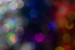 Bokeh  for Christmas background,. Bokeh  for Christmas background Bokeh of celebration light night blue, yellow, red Royalty Free Stock Images