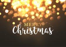 Bokeh christmas background decoration. Abstract glow defocused holiday bokeh illustration.  Stock Photo