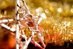 Bokeh Christmas Background Royalty Free Stock Images