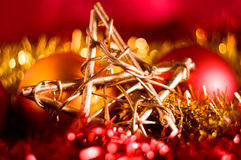 Bokeh Christmas Background Royalty Free Stock Image