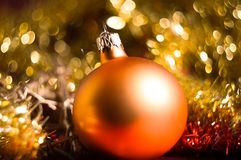 Bokeh Christmas Background Stock Photography