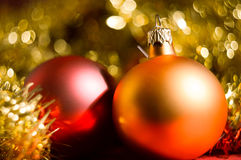 Bokeh Christmas Background Stock Image