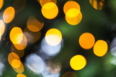 Bokeh of christmas background Royalty Free Stock Images