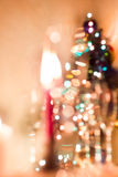 Bokeh Christmas Royalty Free Stock Photos