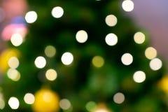 Bokeh of christmas light stock image