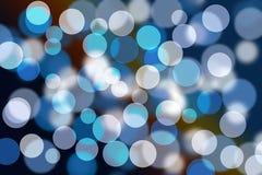 Bokeh christmas lights Stock Image