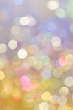 Bokeh Christmas lights background Stock Photos