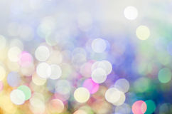 Bokeh Christmas lights background Royalty Free Stock Photo