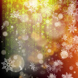 Bokeh christmas lights background. EPS 10. Vector file included Stock Photography