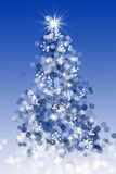 Bokeh Christmas tree Royalty Free Stock Photo
