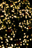 Bokeh Christmas tree background Stock Photos