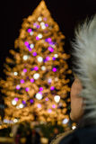 Bokeh Christmas Stock Image