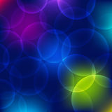 Bokeh Circle Abstract Background. Vector Illustration royalty free illustration