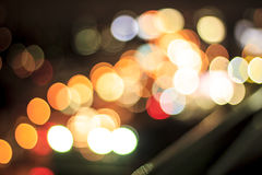 Bokeh. Circle abstract beautiful light background stock photography