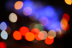 Bokeh circles lights Stock Photos