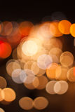 Bokeh circulaire abstrait Images stock