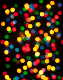 Bokeh circulaire abstrait Photographie stock