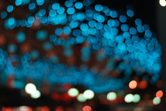 Bokeh circulaire abstrait image stock