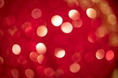 Bokeh circulaire rouge de Beautyful image libre de droits