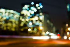 Bokeh city Royalty Free Stock Image