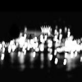 Bokeh of city lights Stock Images
