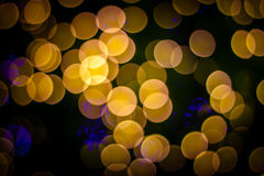 Bokeh claro abstrato background_01 Fotos de Stock Royalty Free