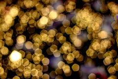 Bokeh claro abstrato background_03 Imagens de Stock Royalty Free