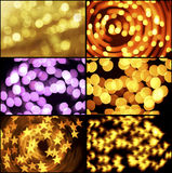 Bokeh collage Stock Image