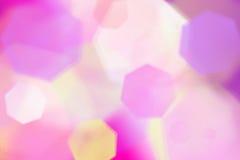 Bokeh coloré de fond Photo libre de droits
