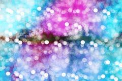 Bokeh coloré de fond Photos stock